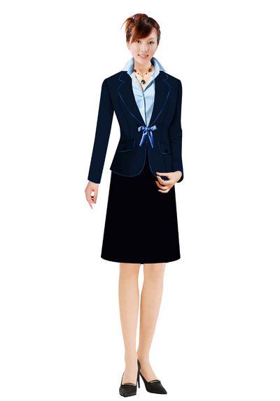 时尚女西服定制