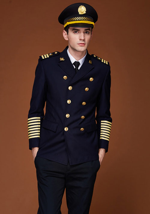 航空飞行员制服