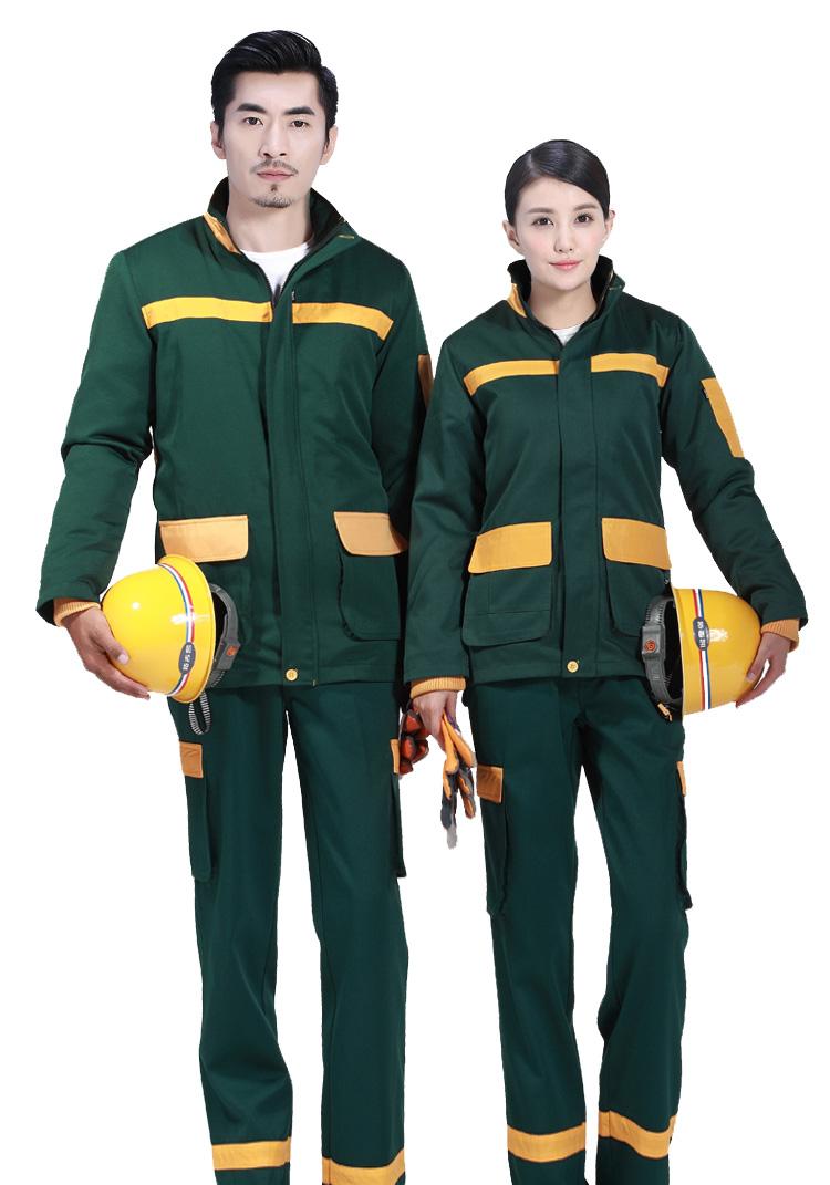 工作制服的体型分类
