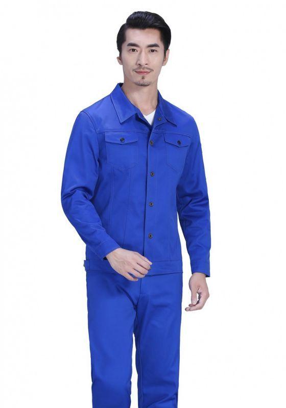 适用与钢铁行业的牛仔工作服