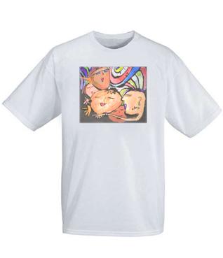 T恤衫定制的印花工艺有哪些?